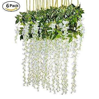 Dearhouse artificial wisteria vine garland