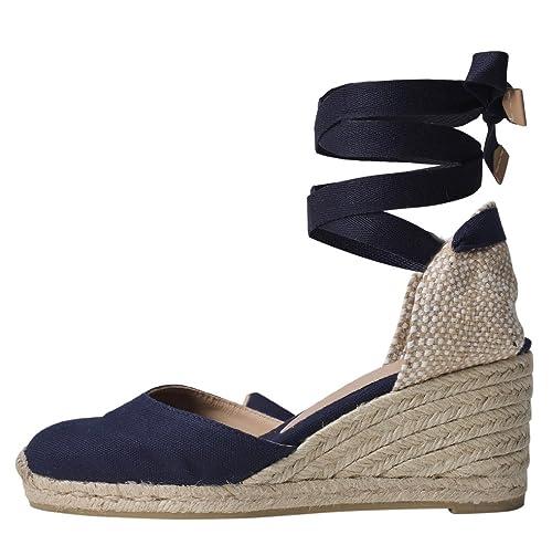 98bae9d4f Castaner Women's Carina Platform, Marino, 38 N EU (8 US): Amazon.co.uk:  Shoes & Bags