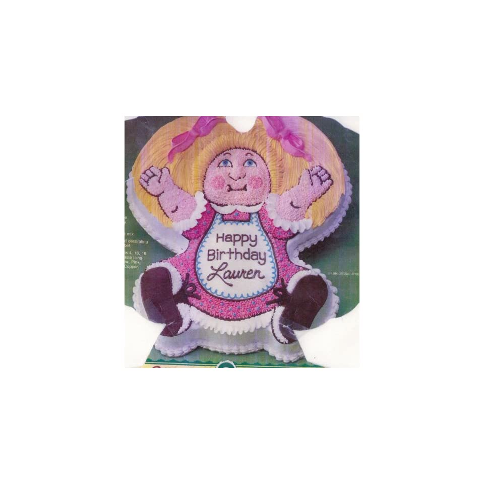 Wilton Cake Pan Cabbage Patch Kids Baby Doll Dolly Cake Pan Mold (2105 1984, 1984) Retired