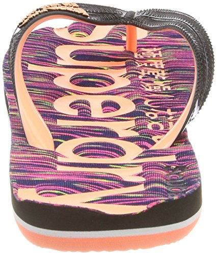 Scuba Femme Nz2 Superdry Multicolore Flop Slub Tongs Multi Flip FxAwwOqaP