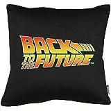 Touchlines Merchandise Zurück in die Zukunft Logo Kissen mit Füllung 40x40cm