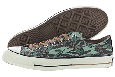 1fe6cb066410 Converse Chuck Taylor All Star OX 1970 Floral Low Top Shoes 148554C Iceberg  Green 11 D