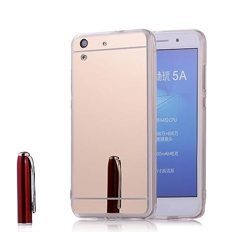 Funda Huawei Y6 II 2/Honor 5A, Forhouse Ultra Delgado Lujo ...