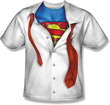 Superman - - Juventud ESTOY Camiseta: Amazon.es: Ropa y accesorios