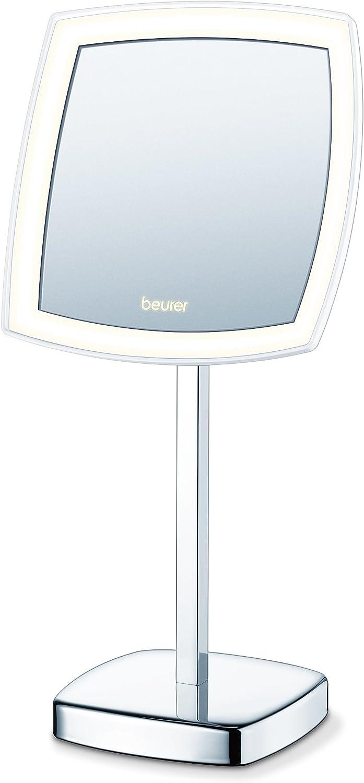 Beurer BS-99, Bs-99 - Espejo Cosmético Con Luz, Plata, Pack de 1: Amazon.es: Salud y cuidado personal
