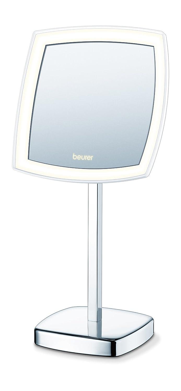 Miroir pour maquillage grossissant éclairage LED sur piles ou secteur Beurer BS 99 585.15