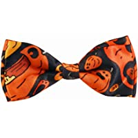 Blacksmith Pumpkins Design Bow Tie for Men Bowtie