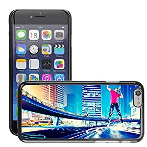 Super Stellar Slim PC Hard Case Cover Skin Armor Shell Protection // M00052228 creative go get it city aero // Apple iPhone 6 PLUS 5.5