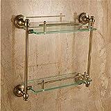LAONA European antique copper aluminum space bathroom accessories hook soap dish,Rack 2