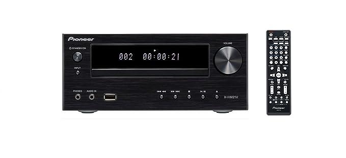 Amazon.com: Pioneer x-hm21 V-k Micro sistema de sonido W/30 ...