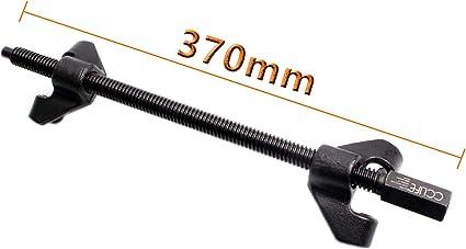 Cclife Federspanner Tuning Tieferlegung Montagespanner 370mm 2 Tlg Kfz Werkzeug Auto