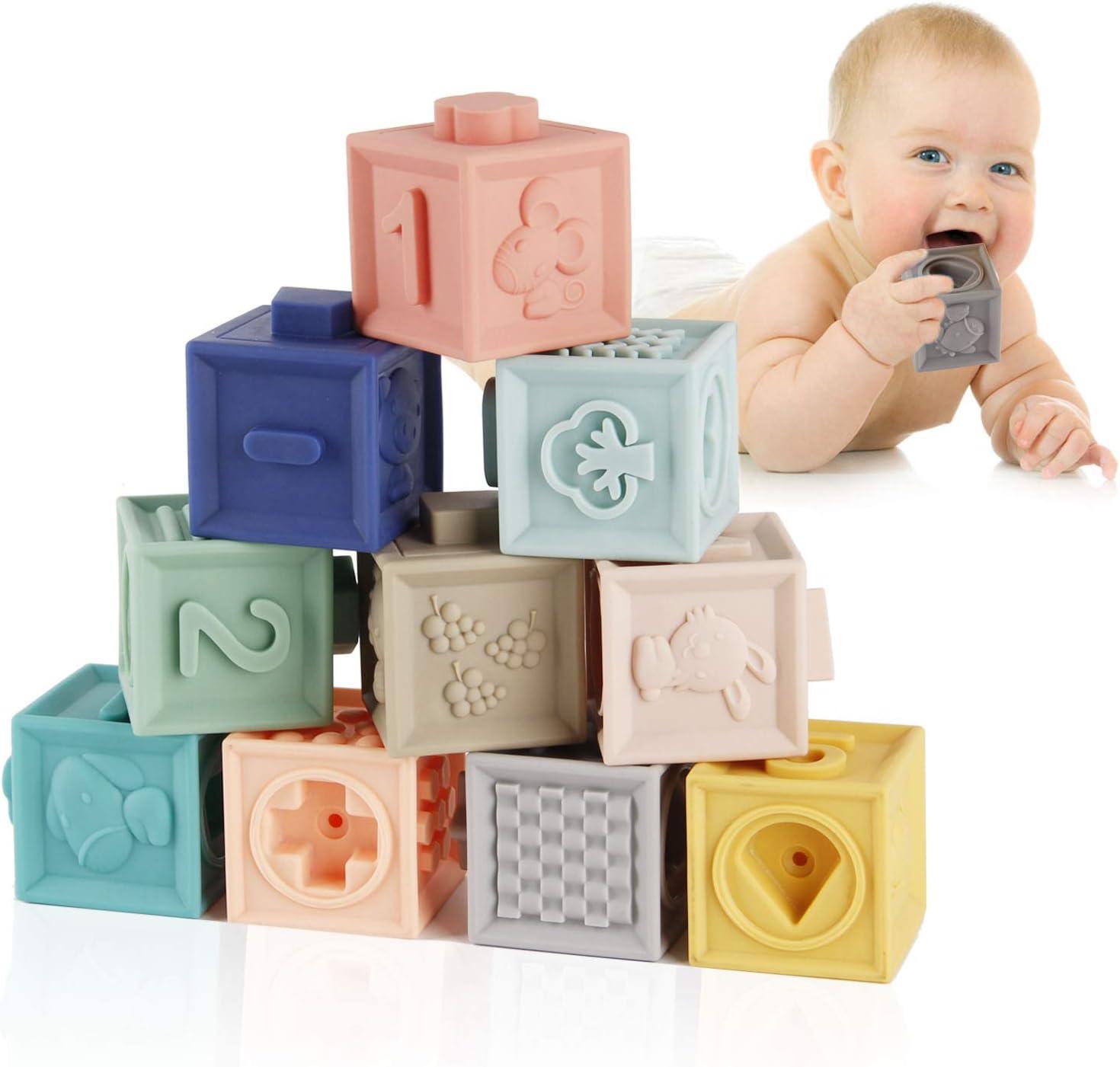 Wonder Child Soft Building Blocks 11 pcs