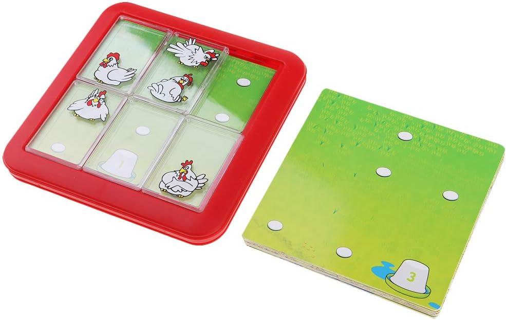 Sharplace Juego de Mesa de 48 Niveles Busca Huevo Rompecabezas Divertido Niños: Amazon.es: Juguetes y juegos