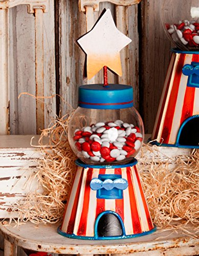 The Round Top Collection Gumball Machine Small - Metal