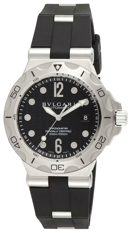 [ブルガリ]BVLGARI 腕時計 ディアゴノプロフェッショナル ブラック文字盤 ラバーベルト 自動巻 300M防水 DP42BSVDSD メンズ 【並行輸入品】 B00FOGWSFA