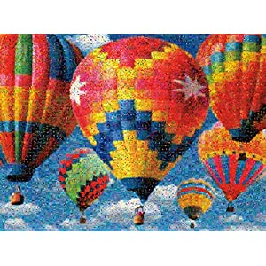 Buffalo Games Balloon Race Jigsaw Puzzle From The Photomosaic Collection 1000 Piece By Buffalo Games