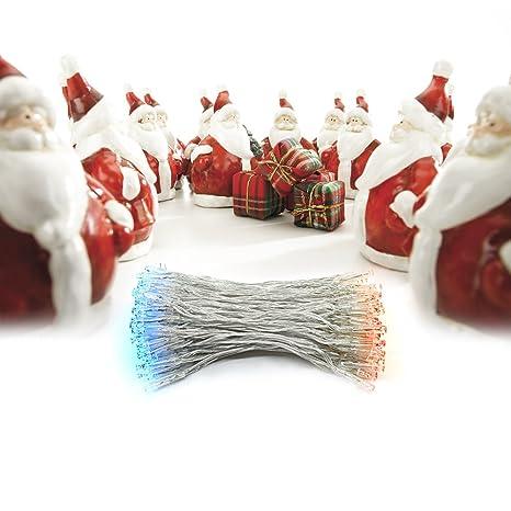 Luz de la Navidad decoración del árbol del LED, LED Dland coloridas cadenas de luz con ...
