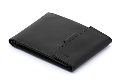458b0aeffb Bellroy Leather Coin Fold Wallet Black