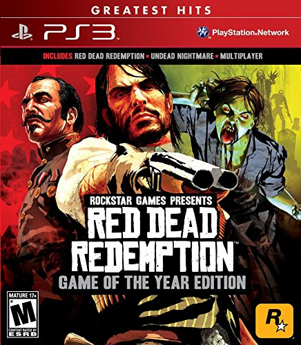 Red Dead Redemption Game of the Year (Action Games Ps3)