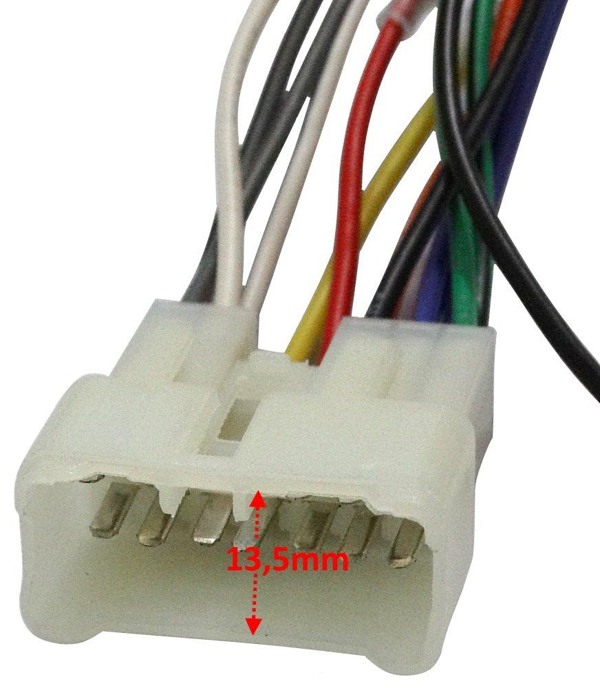 Cable Adaptador ISO para autoradio C4465 AERZETIX