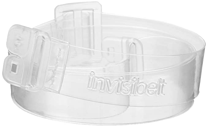 651326fc2eb91 Invisibelt - No Show Women's Belt, Skinny Slimming Belt, Adjustable Flat  Belt (Clear