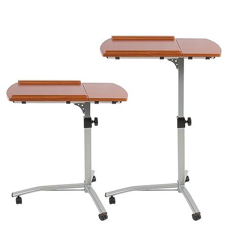 SK C más de cama Hospital Le St soporte de mesa carro con ruedas