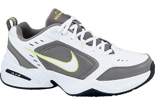 Nike Air Monarch IV US Men's 15 M (White/White/CoolGrey/Volt