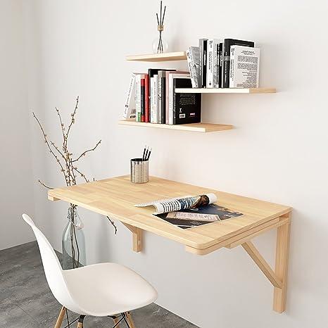 WNX Pieghevole da parete a parete Tavolo da scrivania Scrivania per ...