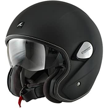 Shark Heritage Helmet (Matte Black, Large)