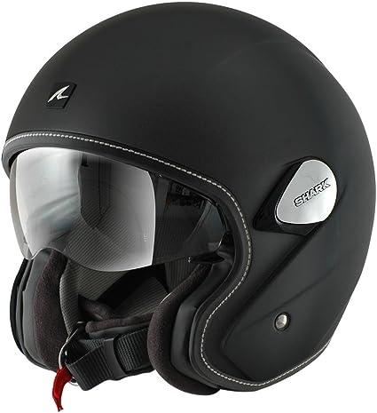 Shark Heritage Blank Open Face Motorcycle Helmet