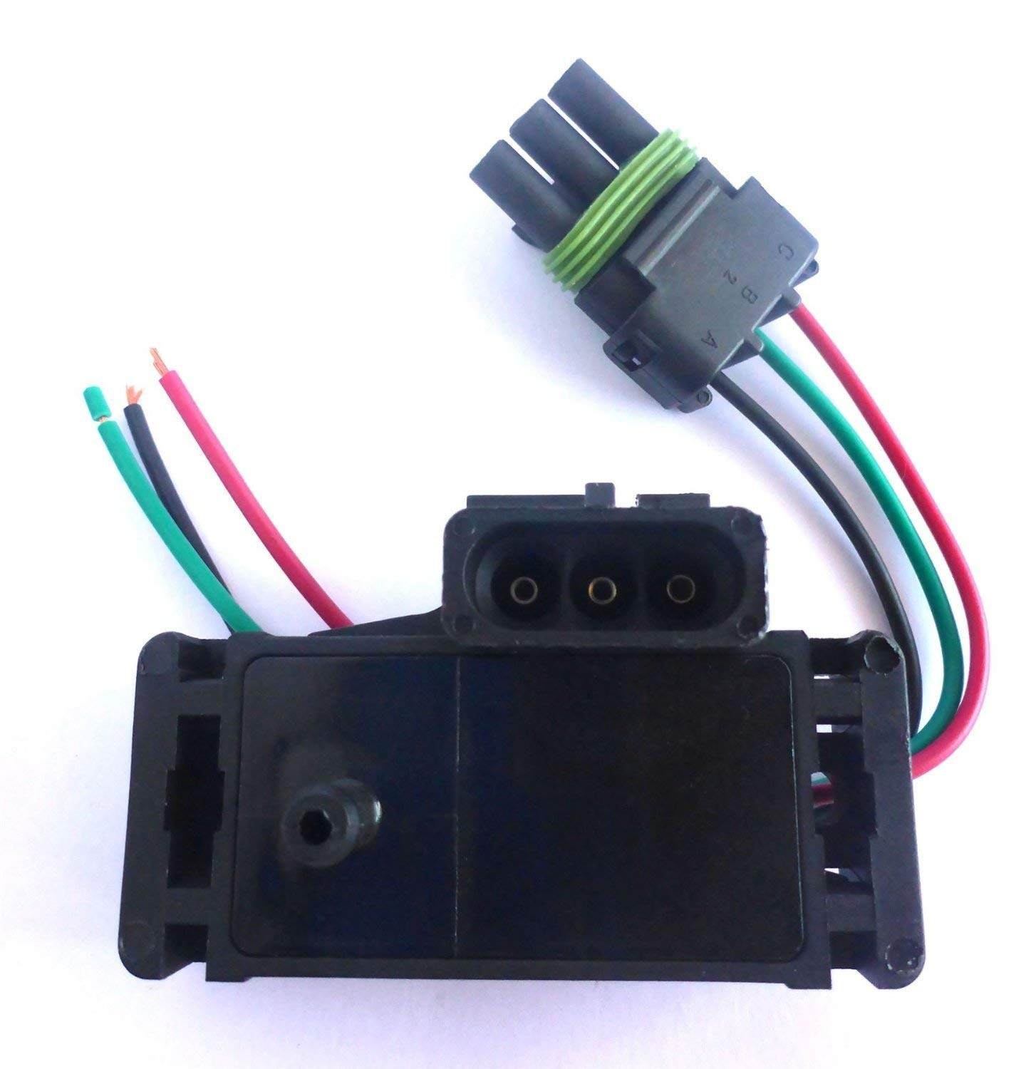 SPR Manifold Absolute Pressure Sensor//Map Sensor 2 Bar For Delphi//GM 12247571 16040609 Chip from Germany 2Bar With Plug