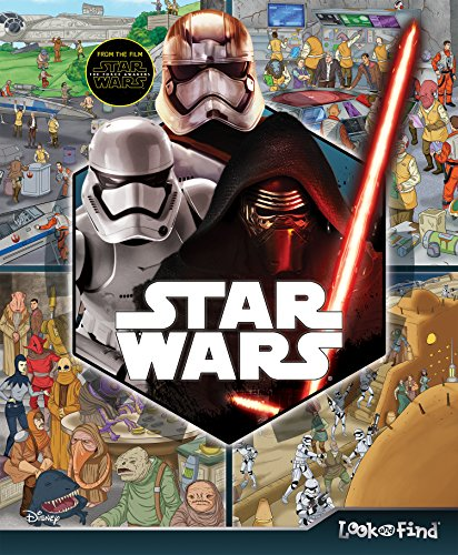 Look and Find Star Wars the Force Awakes