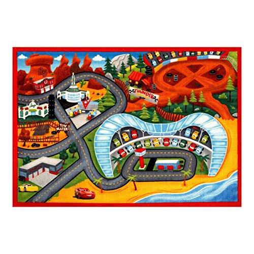 Gertmenian: Disney Cars 3 Play Rug 2017 HD Digital Cars3 Kids Road Rugs Bedding Playmat 54x78 inch, Large Disney Cars Play Mat