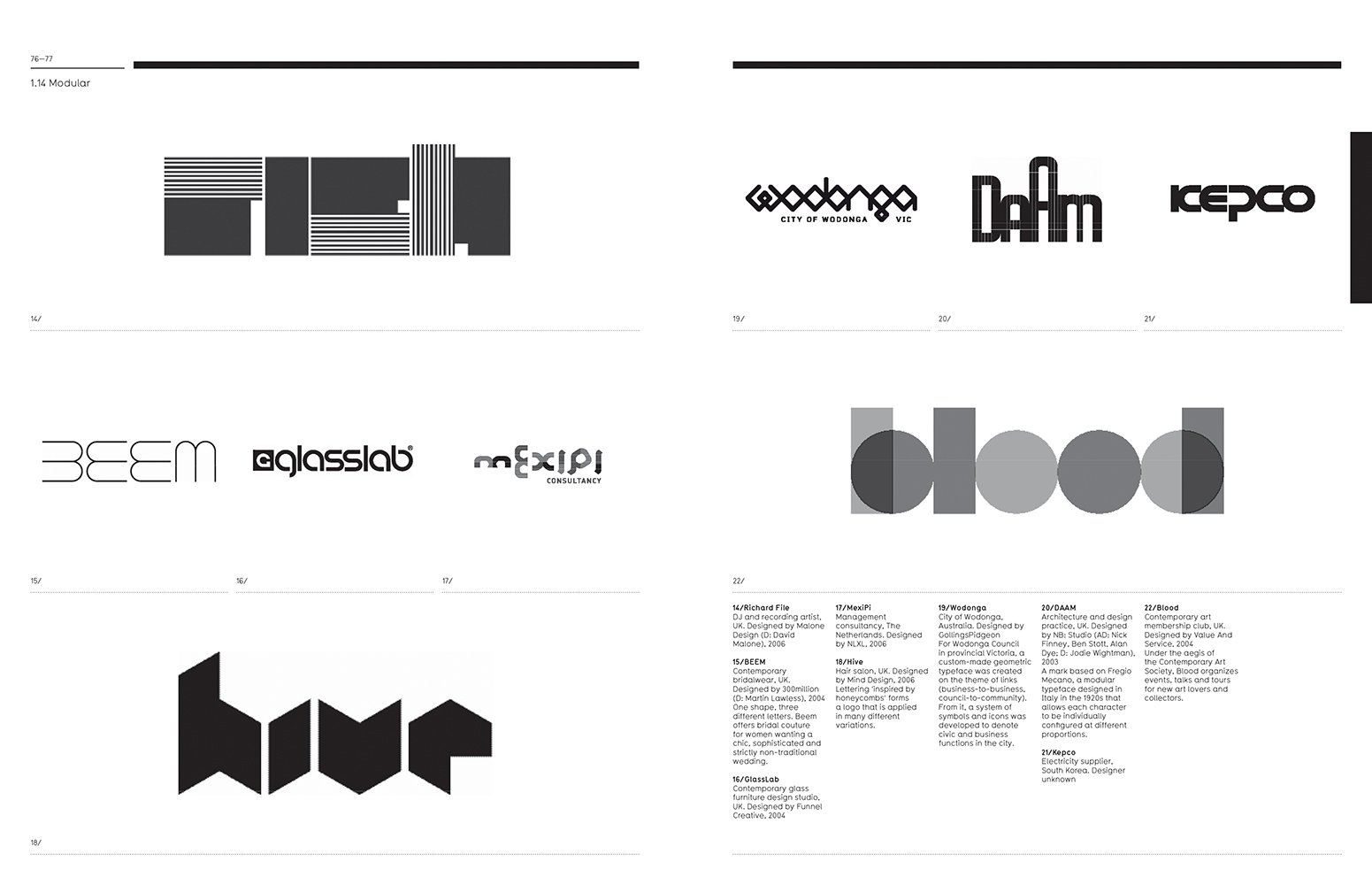 Logo The Reference Guide To Symbols And Logotypes Mini Michael