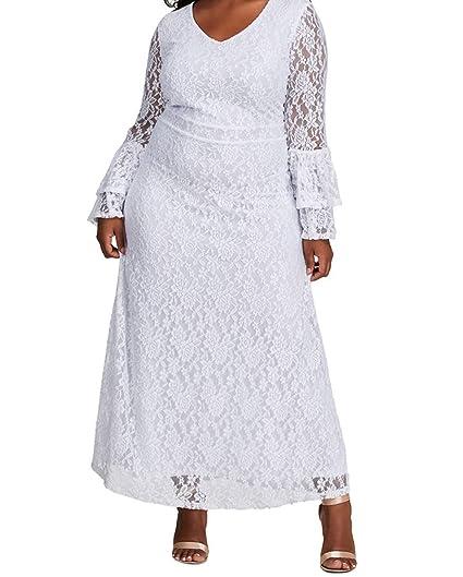 White Ankle Length Maxi Dresses