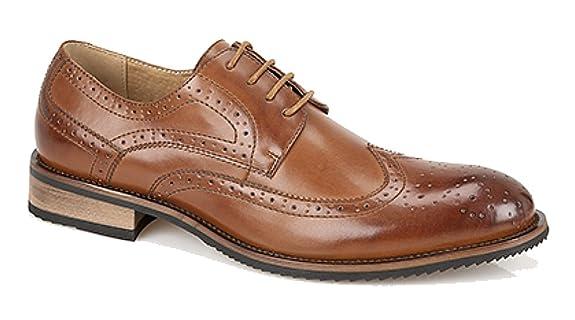 Maybury - Chaussures À Lacets En Cuir Pour Homme Si Bruni Brun 4aODeAGs