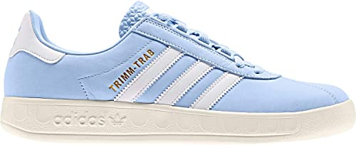 ligado cordura Muelle del puente  Amazon.com: Adidas Trimm Trab Mens Sneakers Blue: Clothing