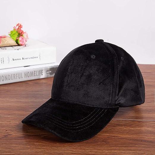 mlpnko Gorra de béisbol Color sólido Casual Sombrero de Hip Hop ...