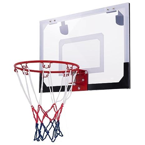 EnjoyShop - Aro de Baloncesto para Puerta (Incluye balón de ...