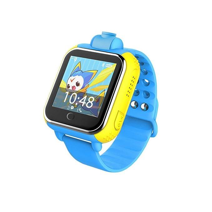 3 G Tarjeta Inteligente Reloj GPS Tracker Kids Smartwatch ...