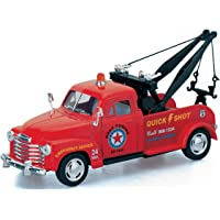 Jack Royal Metal Die-Cast Pull Back Toy Car (Color May Vary as per The Availability) (1953 Chevrolet 3100 Wrecker)