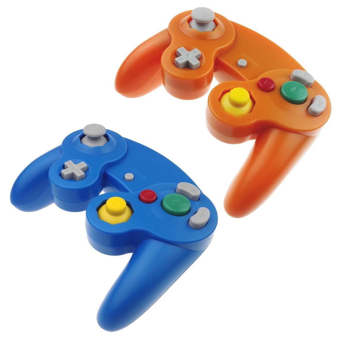 TechKen Nintendo Wii Controller GameCube Wii U Replacement Wired Classic Controller Gamepad for Nintendo GameCube Wii