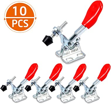 5Pcs Toggle Clamp GH-201-A Holding Capacity 27Kg// 60 Lbs Wood Working Equipment