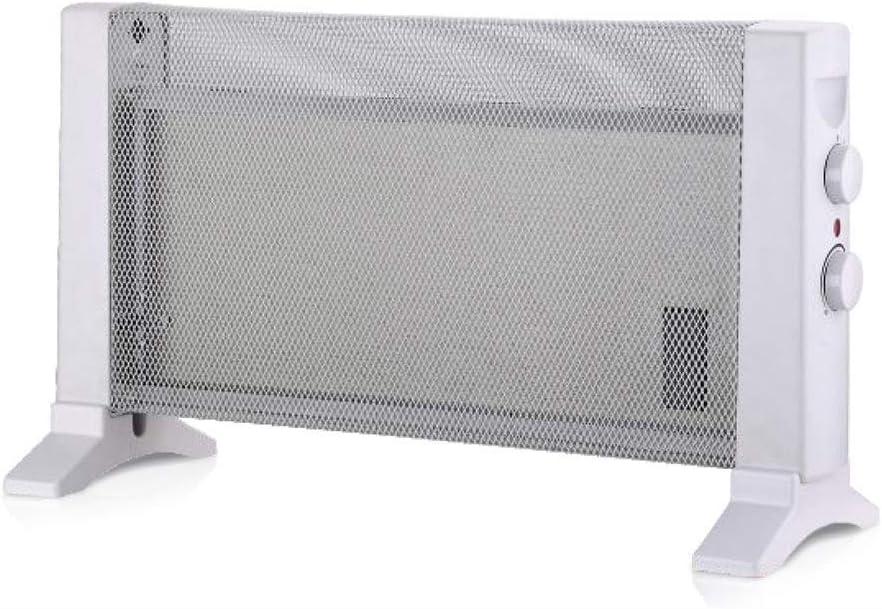 con configuraciones de calor de 300W o 600W HAEGER MICA HEATER 2 velocidades Calefactor Radiador de Mica con 600W de potencia termostato regulable protecci/ón contra el sobrecalentamiento
