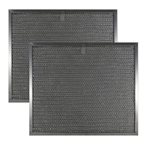 2 Pkg Air Filter Factory Compatible Replacement For Broan BPS1FA30, QS1 & WS1 30 Inch Range Hood Grease Filters