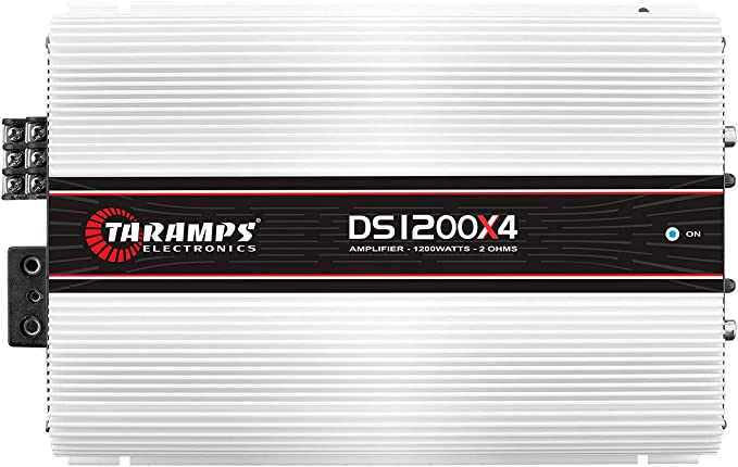Taramps DS 1200x4 2 Ohms 4 Channels 1200 Watts Amplifier Taramp/'s