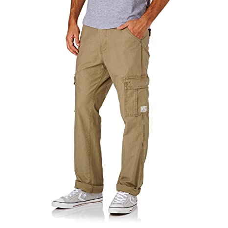 Quiksilver Pantalones Cargo Stamford M ndpt Elmwood 28   Amazon.es ... df80ce5faba