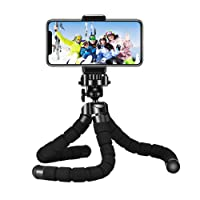 Mini Tripod, Mpow Flexible Mini Tripod Camera Travel Tripod with Bluetooth Control for Gopro and Small Camera, Black