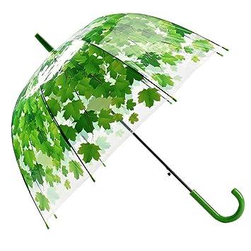 plus de photos 68ca3 b128d AIflyMi Transparent Parapluie,Parapluie Transparent Ouvert ...