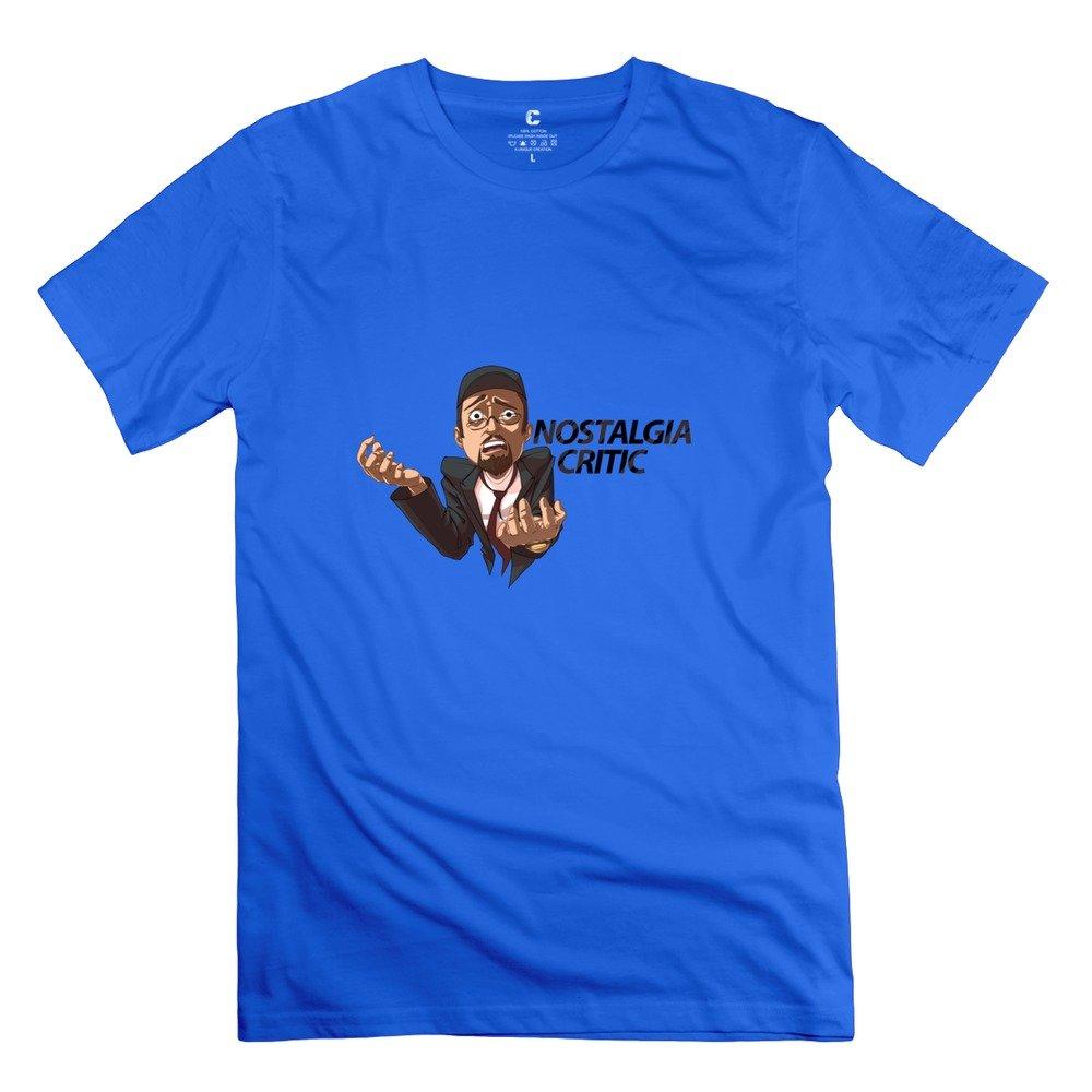 Mens Nostalgia Critic Custom Vintage ForestGreen T Shirts By RRG2G